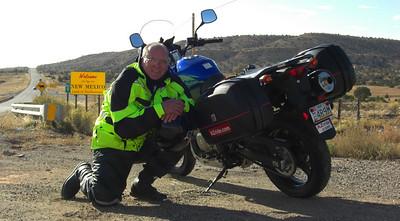 nov 6, 2007, @ 9:15am, on US 64 New Mexico/Arizona state line, @ Tec Nos Pos, AZ.
