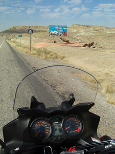 nov 6, 2007, @ 12:15pm, Utah/Colorado state line, on UT 162, heading for Bluff, UT.