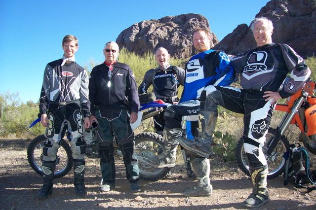 Keith, Clif, Warren, Jason, Bud