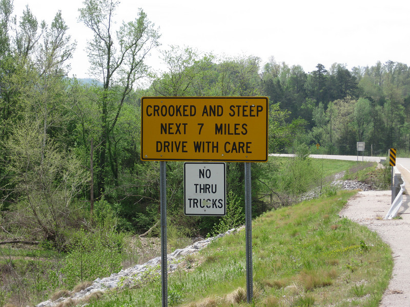 Crooked AND steep!  The best kind!