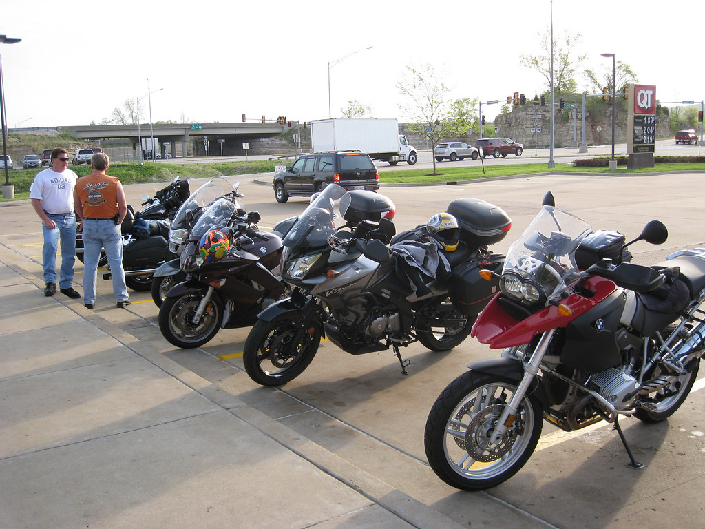 A nice eclectic mix of bikes