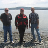 Neil, Tim, & Bob at the Hood Canal on 6/15/09.  It was a great ride around the canal.  Merle Swanson was along with us and took this picture.