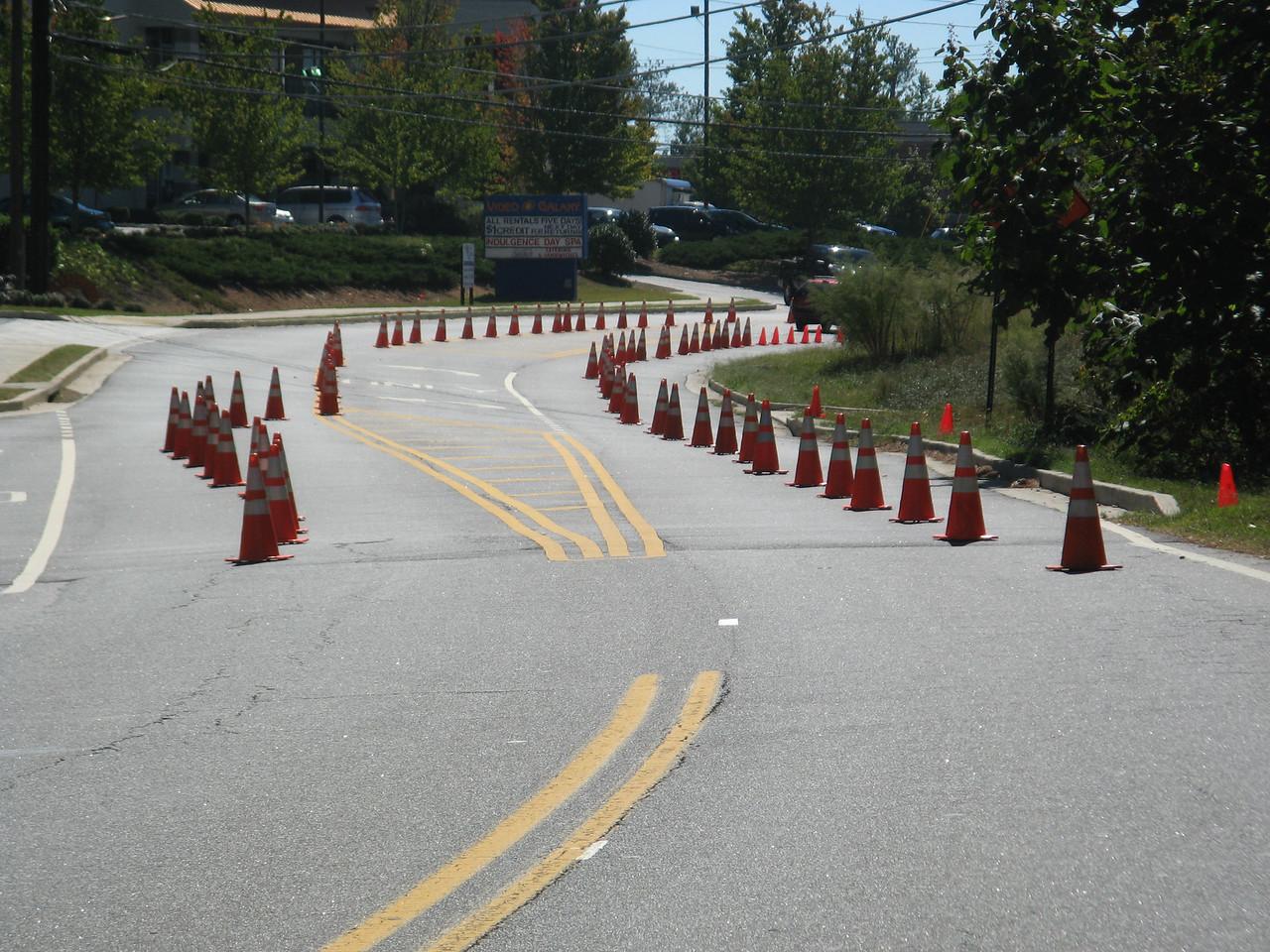 Cone art at it's best in Alpharetta, GA.