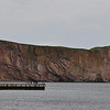 Perce Rocks...lot of whale watching boats and tours of the rocks.  When the tide is low, you can walk out to the rocks...my timing was a little off!