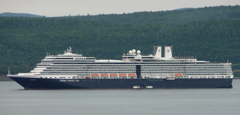 A cruise ship in the harbor at Campbellton...the town was full of tourists...I got out quick!