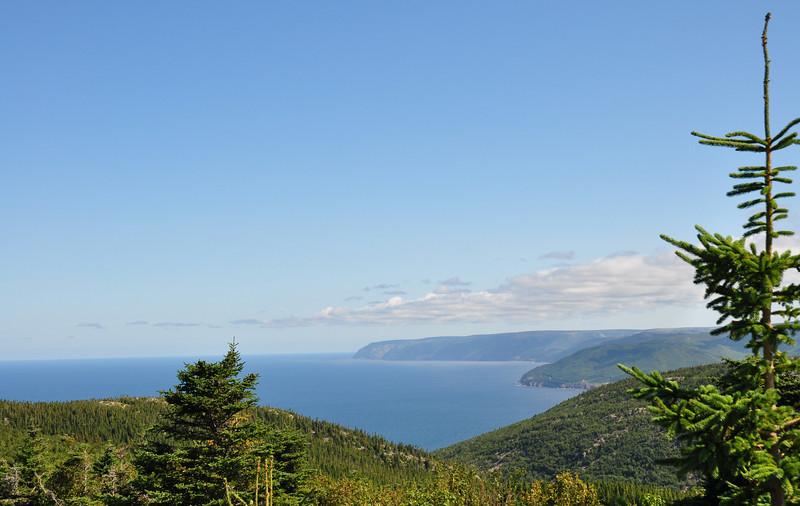 View near Cape North, NS...