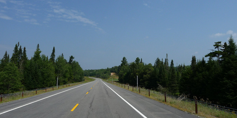Open road and clear skies on Tuesday morning...perfect!