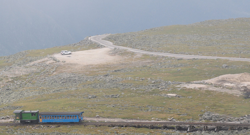 An alternative way to get to the top...the cog railway.