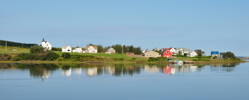 Quiet morning in the coastal village of Margaree...