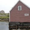 Peggy's Cove building...interesting foundation...