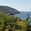 Look back where I've been from an overlook near Pleasant Bay