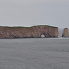 Another view of Perce Rocks on the way out of Perce.  This is on the Eastern tip of the Gaspe