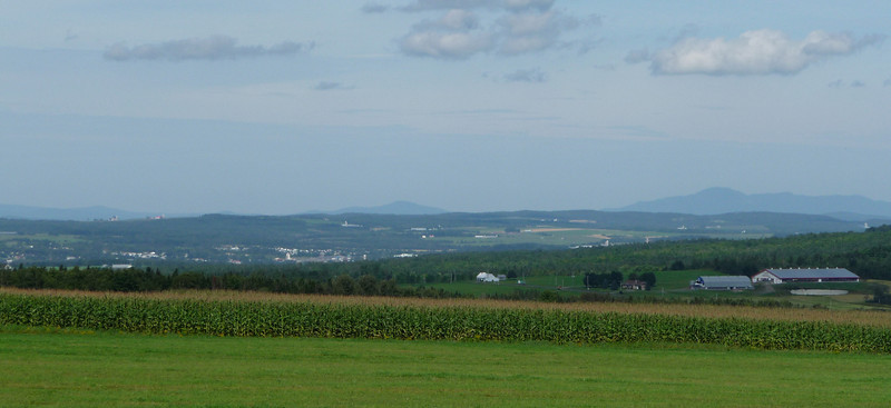 Southern Quebec farms, just across border from NH