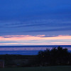Sunset in Inverness, NS...got in a little late and the one restaurant that was open was not really open...they had a private party going on, so I ate granola bars for dinner...yum.