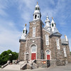 Church in the center of Trois Pistoles, QC