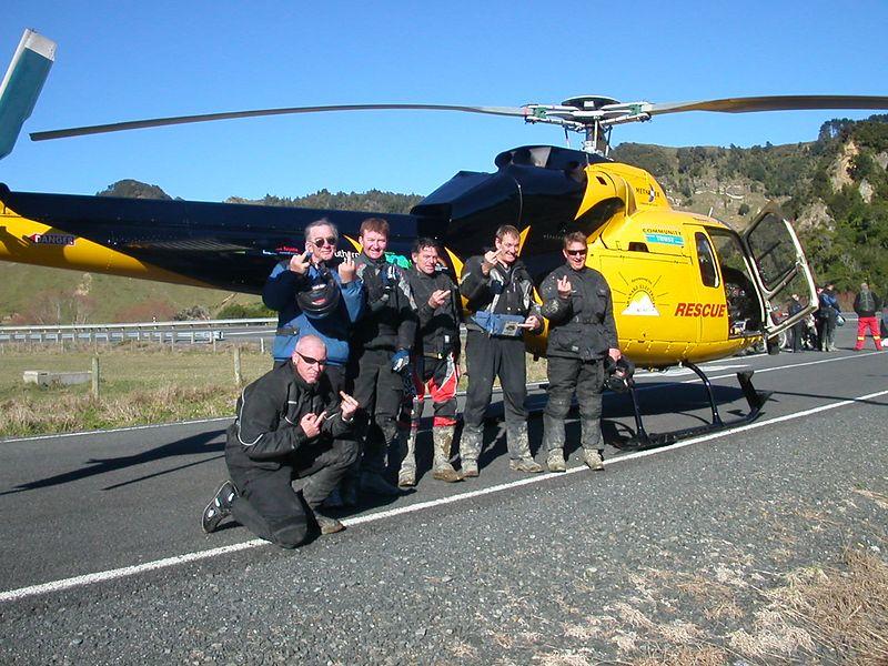Chopper Salute