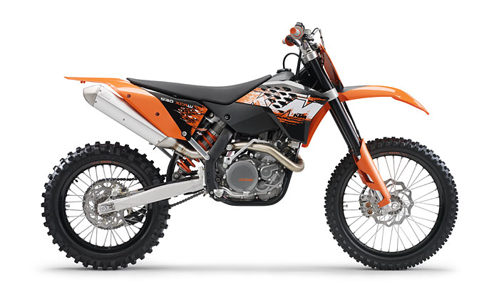 2008 KTM XCRW  After a long hours of research this is the race choice!   Soon to be BAJA ready!!!