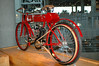1905 Marsh. Built in USA.<br /> They were the first to build a motor cycle rather than a adapted bicycle.<br /> Carried a 1 yr. warranty.