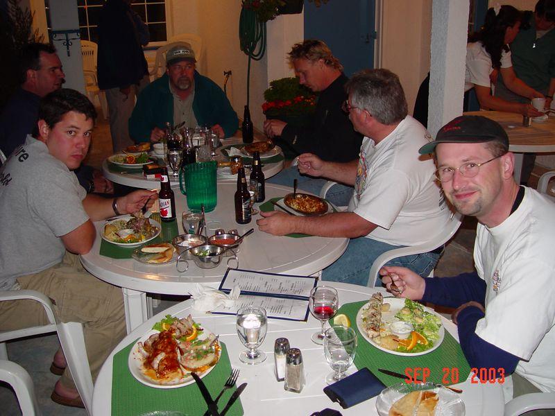 30 Dinner at the Greek restaurant