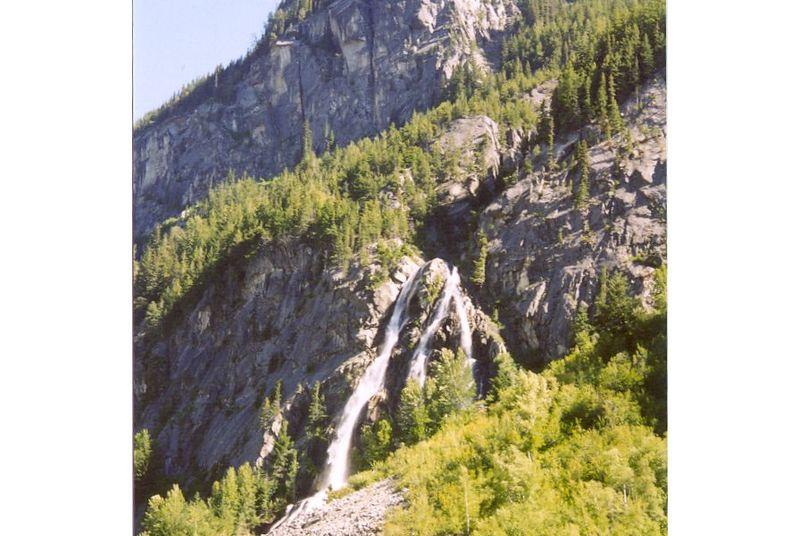 Bridge River Waterfall