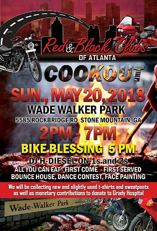 BLACK & RED CLUBS OF ATLANTA 3RD ANNUAL COOKOUT