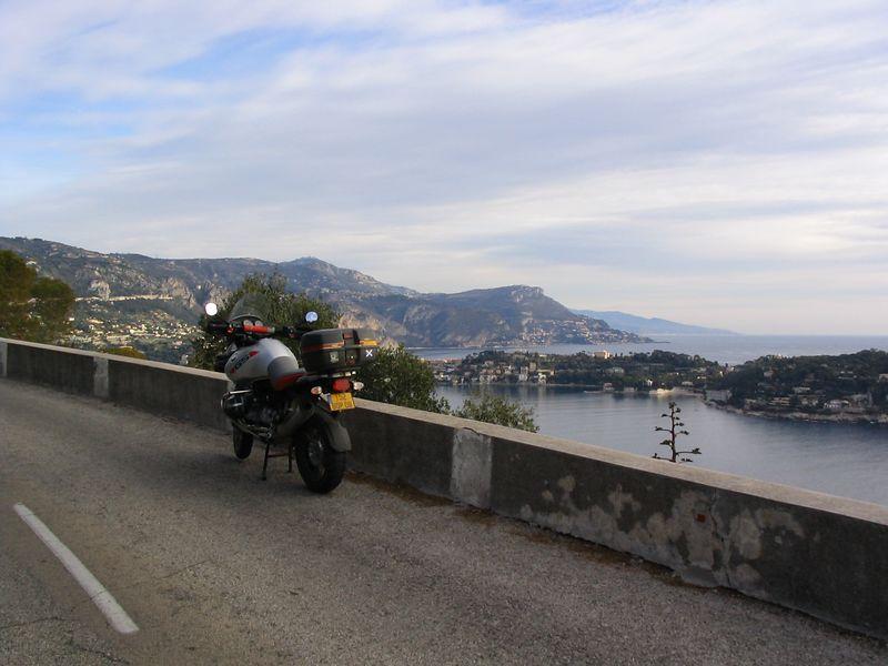On Mt Boron looking east to Cap Ferrat