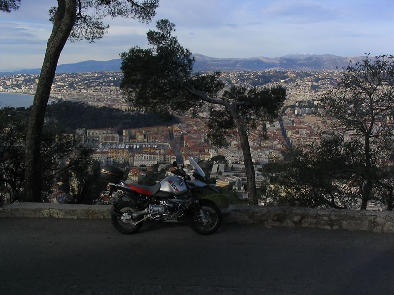 View of Nice from Mt Boron Jan 2004