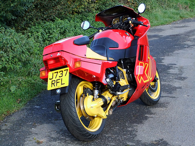 BMW K1 Red & Yellow