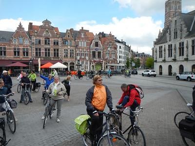 Fietstocht aan de Schelde 2014