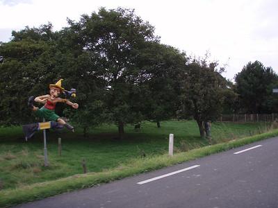 Langs de Provinciale weg richting Sluis.