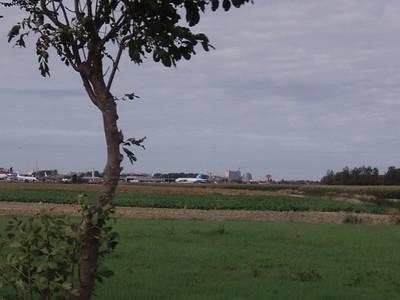 Het vliegveld van Oostende.