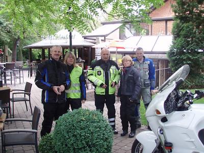 Restaurant 't Meulezicht ,Watermolen 10, 2470 RETIE, Joannes, Gerlinde, John, Sabine en Frank.