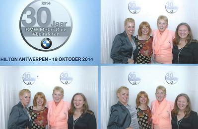 30ste Jaarfeest BMW MotorClub Vlaanderen.