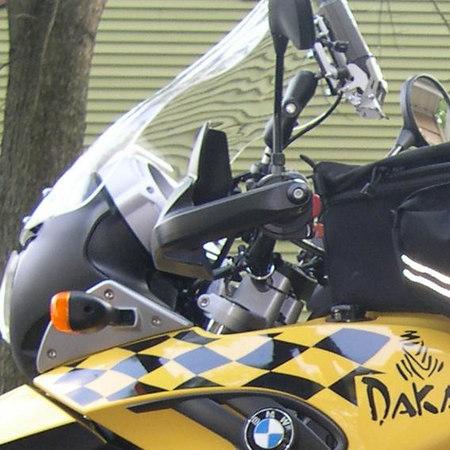 Touratech BMW handguard extenders