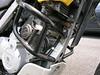 Stebel Air horn mounted inside SW Moto crash bars