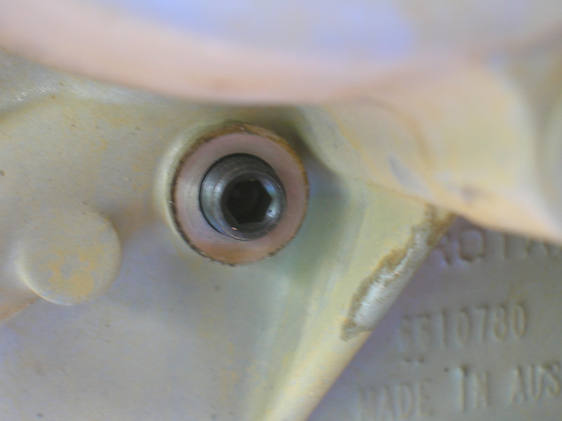 TDC bolt installed