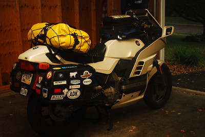 Packed and ready to go.