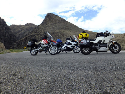 Canyon riding, ID.