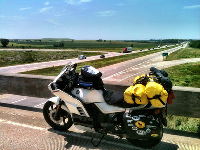 I-70, Flint Hills of KS.