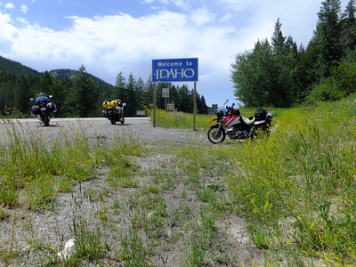 WY/ID border near Teton Pass.