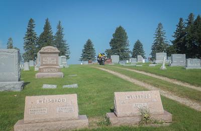 Cemetery in Fenton, IA