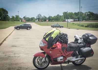 Ohio rest stop, I-70.