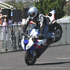 Stoppie with the new Beemer R1000R