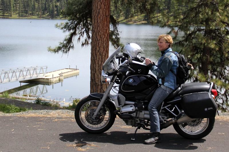 At Magone lake