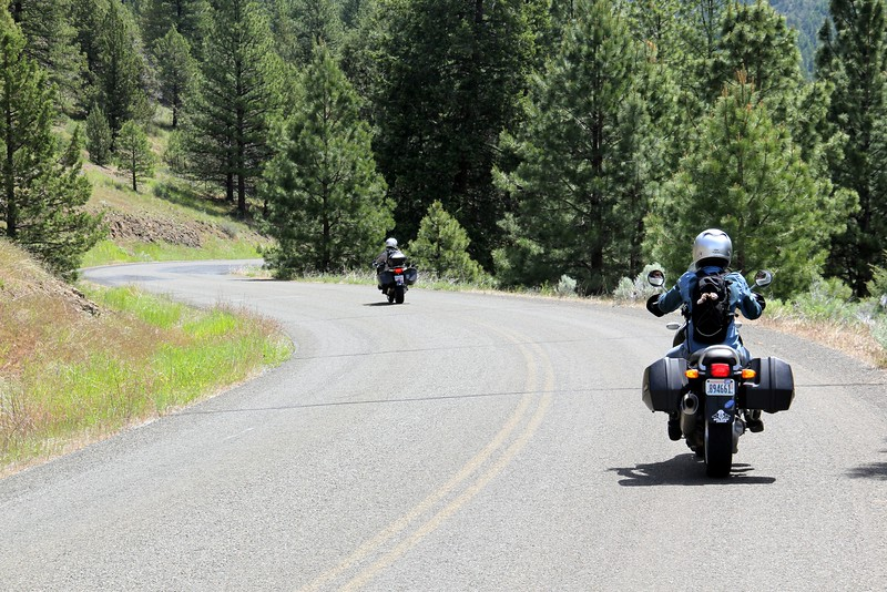 Keeney Forks Road is paved up to Magone Lake