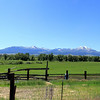 Just east of Prairie City on Hwy. 26 is this view of The Strawberry Mountain Range