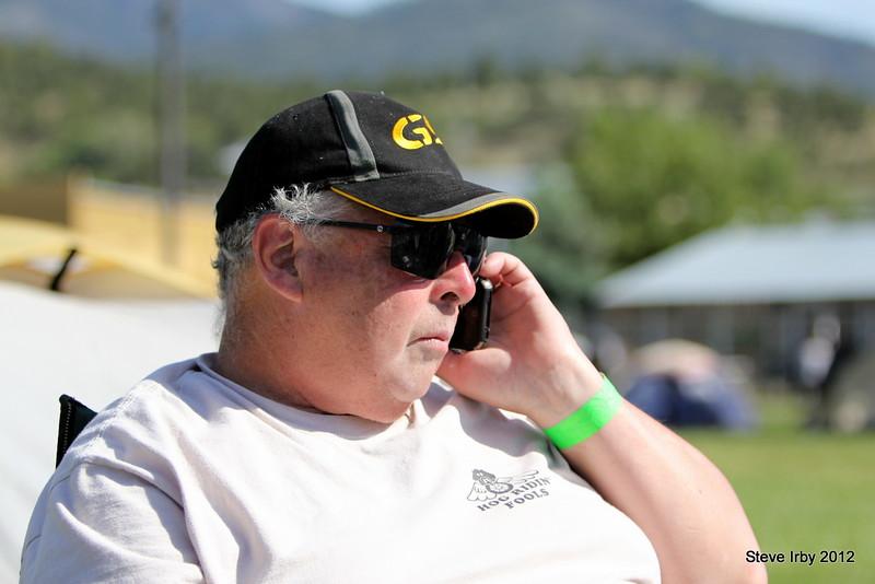 Alan Butler checks in with base