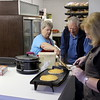 The Lions Club ladies made some great pancakes