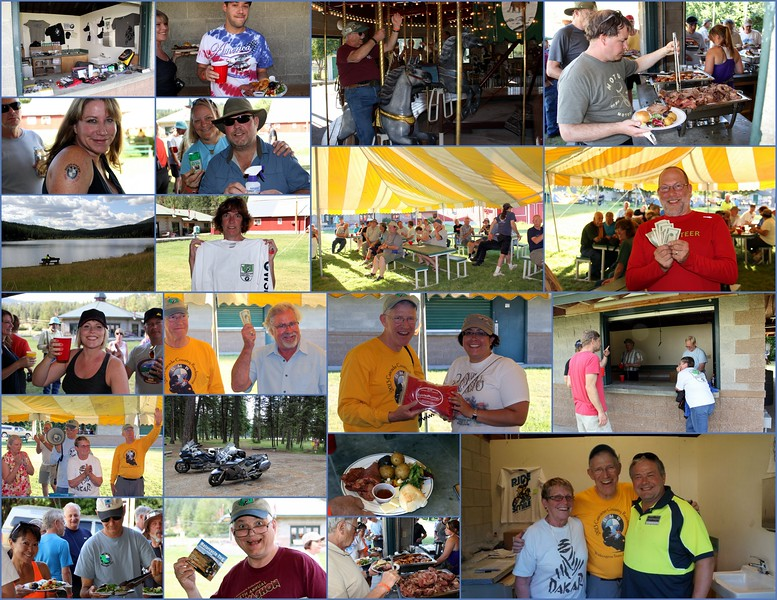 Various prize winners, 50-50 winners, good food and beer.