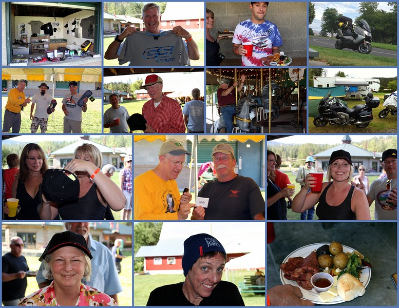 Ride West BMW, always a supporter provided Joey chairs gift certificate and more